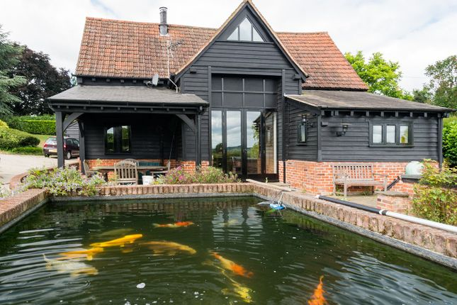 Thumbnail Barn conversion to rent in Mount Bures, Bures