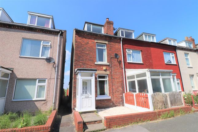 Thumbnail End terrace house for sale in Bentinck Road, Shuttlewood, Chesterfield