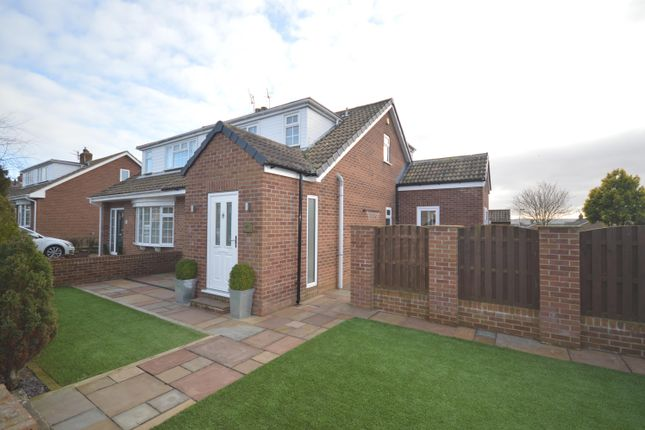 Thumbnail Semi-detached bungalow for sale in Harford Road, Cayton, Scarborough