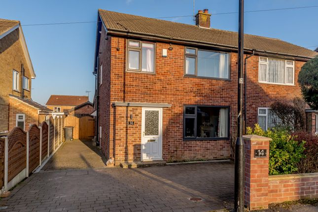Thumbnail Semi-detached house for sale in Beckwith Crescent, Harrogate, North Yorkshire