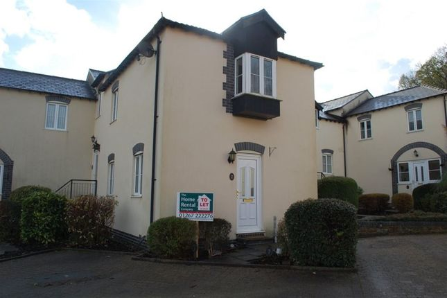 Thumbnail Property to rent in Llys Ystrad, Johnstown, Carmarthen
