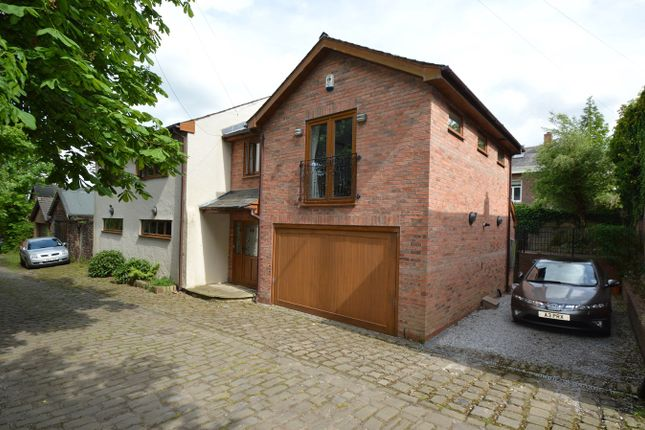 Thumbnail Detached house for sale in The Coach House 18A, Rear Church Lane, Whitefield, Manchester