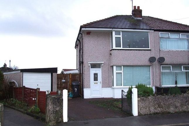 Thumbnail Semi-detached house to rent in Myra Avenue, Morecambe