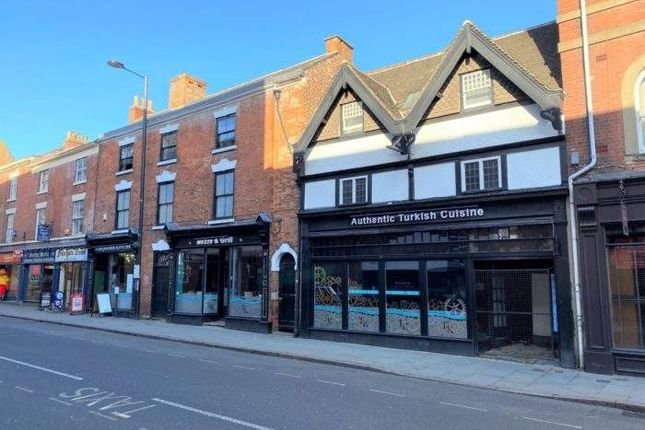 Leisure/hospitality to let in 11-12 Friar Gate, Friar Gate, Derby