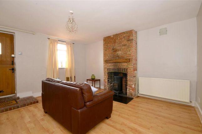 2 bed terraced house for sale in Stone Street, Westenhanger, Hythe, Kent