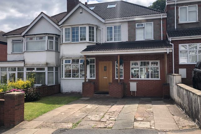 Thumbnail Semi-detached house for sale in Hillside Road, Erdington, Birmingham
