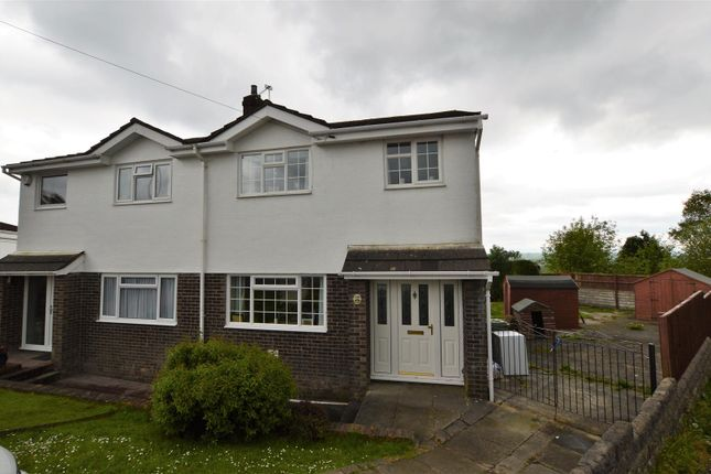 3 bed semi-detached house for sale in Meadow Rise, Brynna, Pontyclun
