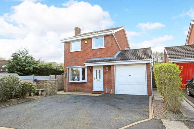 Thumbnail Detached house for sale in Madeley Wood View, Madeley, Telford