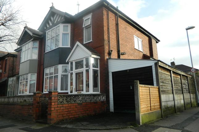 Thumbnail Semi-detached house to rent in Bristol Avenue, Levenshulme, Manchester