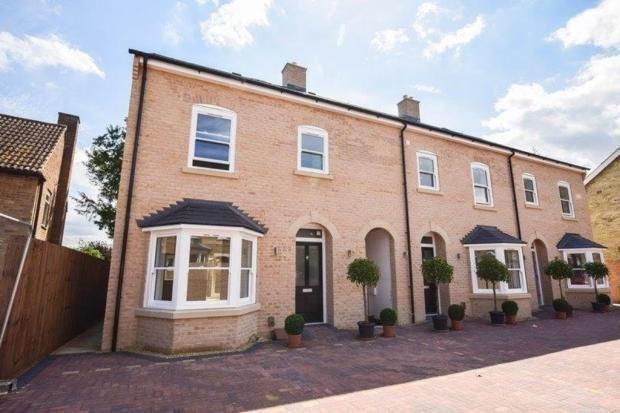 Thumbnail Terraced house to rent in White Hart Lane, Soham, Ely