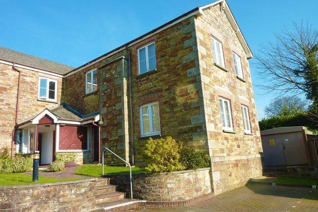 Thumbnail Flat to rent in Castle Hill Court, Cross Lane, Bodmin