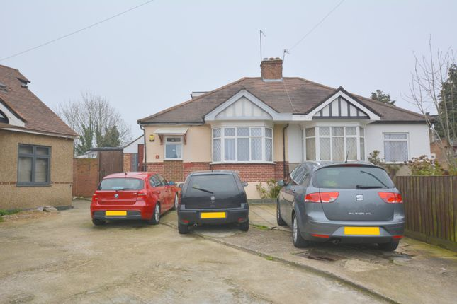 Thumbnail Semi-detached bungalow for sale in Gordon Gardens, Edgware