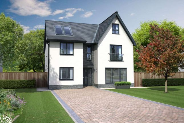 "Thumbnail Detached house for sale in ""Leonardo Grand"" at Ocein Drive, East Kilbride, Glasgow"