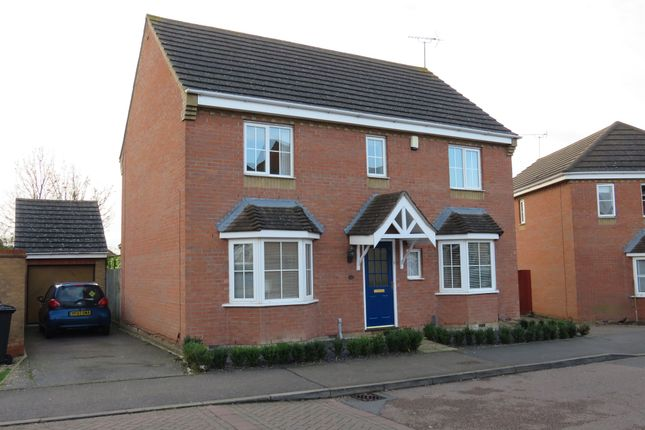 Thumbnail Detached house for sale in Buckthorn Road, Hampton Hargate, Peterborough