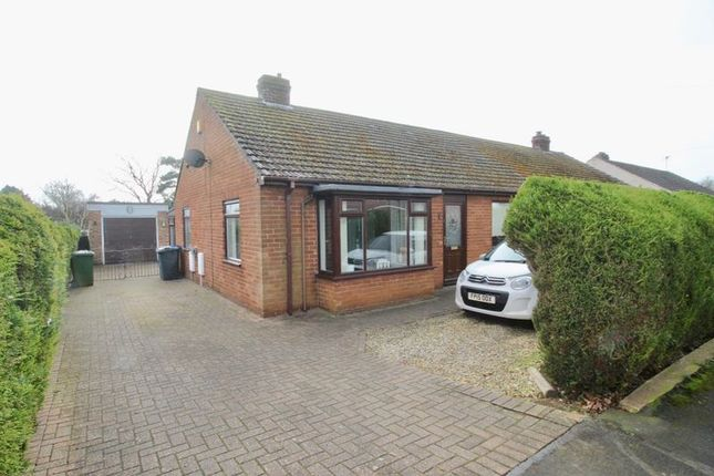 Thumbnail Semi-detached bungalow for sale in Newstead Avenue, Cherry Willingham, Lincoln