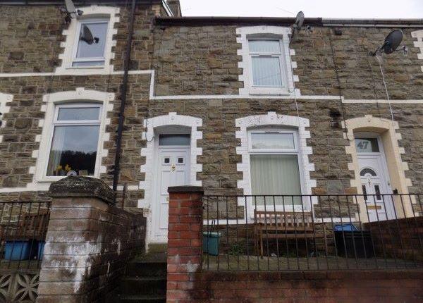 Thumbnail Terraced house to rent in Vivian Street, Abertillery