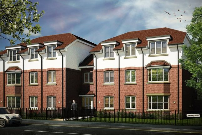 Thumbnail Flat for sale in Stanway Gate, Stanway Road, Shirley