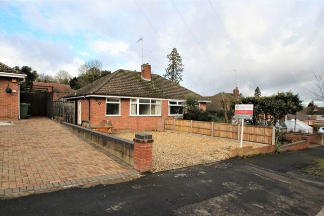 Thumbnail Semi-detached bungalow to rent in Orchard Way, Bilton, Rugby