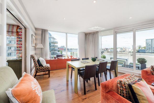 Main Living Area of Kingfisher House, Battersea Reach, London SW18