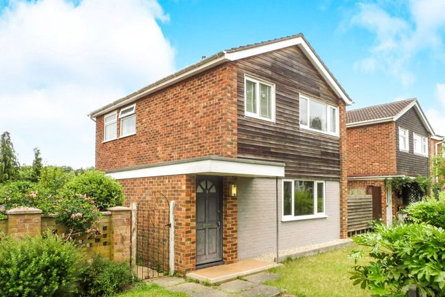Thumbnail Detached house for sale in Ellcar Rise, Eaton, Norwich