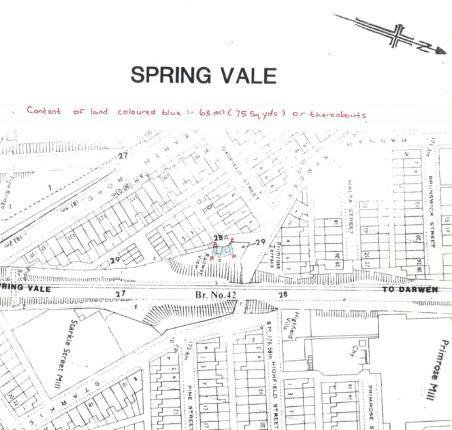 Land for sale in Gadfield Street, Darwen, Lancashire, .