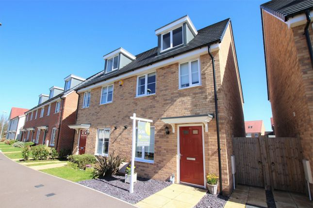Thumbnail Semi-detached house for sale in Graham Brown Walk, Witham, Essex