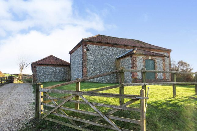 Thumbnail Detached bungalow for sale in Letheringsett Hill, Holt