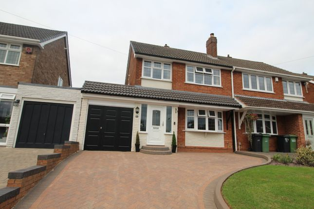 Thumbnail Semi-detached house for sale in Longfellow Road, The Straits, Lower Gornal, Dudley, West Midlands