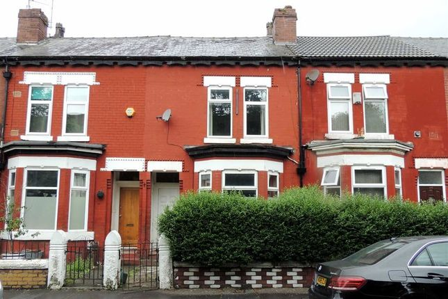 Thumbnail Terraced house for sale in Clarence Road, Longsight, Manchester