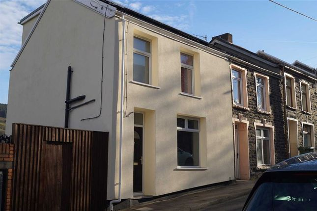Thumbnail End terrace house for sale in Woodland Street, Mountain Ash