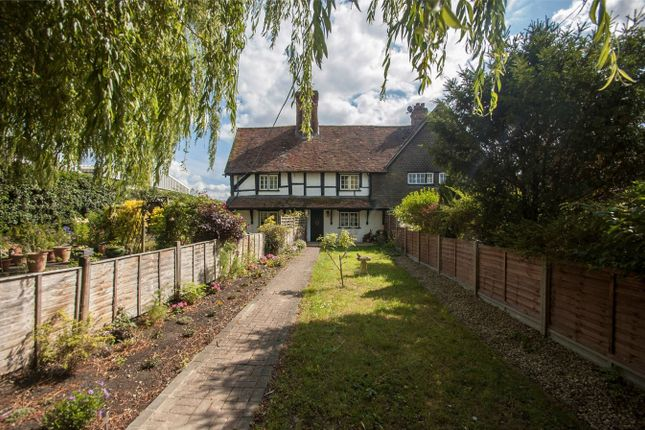 Thumbnail Cottage for sale in The Street, Crookham Village, Fleet