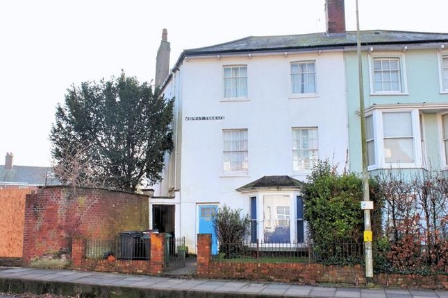 Thumbnail Terraced house to rent in Heavitree Road, Exeter