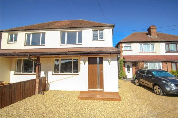 Thumbnail Semi-detached house for sale in Frimley Green Road, Frimley Green