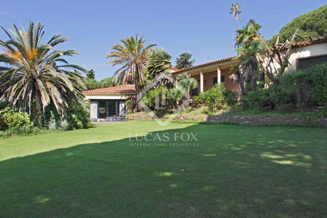 Thumbnail Villa for sale in Spain, Barcelona North Coast (Maresme), Sant Andreu De Llavaneres, Lfs7050