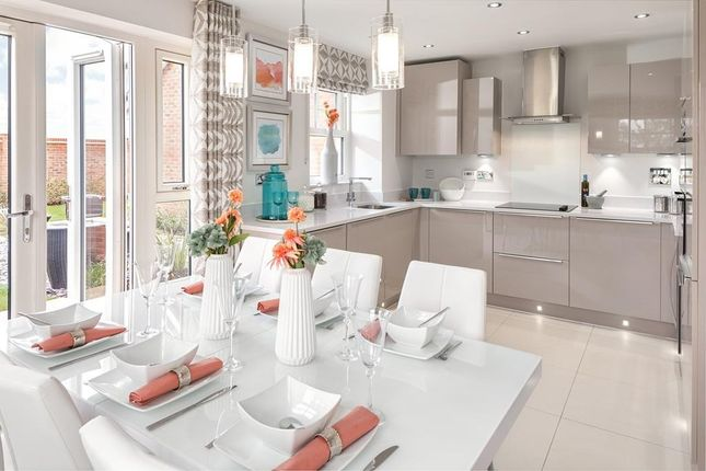 Open-Plan Kitchen Diner With French Doors