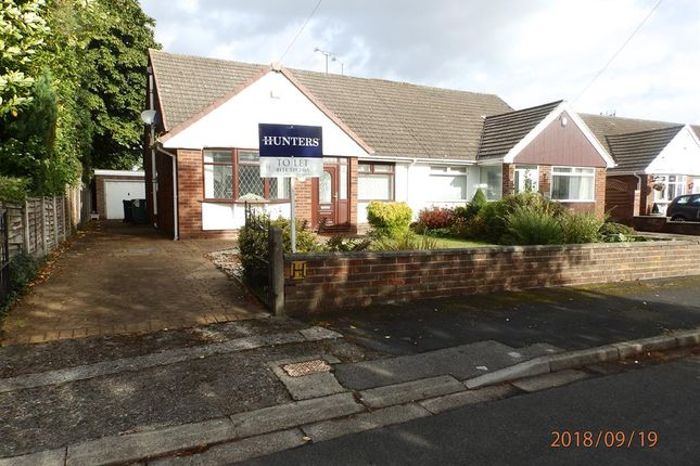 Thumbnail Bungalow to rent in Buttermere Avenue, Ellesmere Port, Cheshire