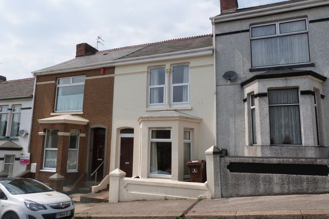 Thumbnail Terraced house to rent in Erith Avenue, Plymouth