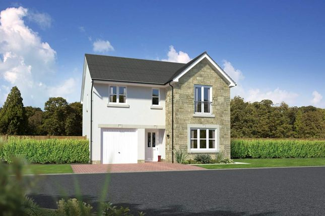 "Thumbnail Detached house for sale in ""Glenmore"" at Meikle Earnock Road, Hamilton"