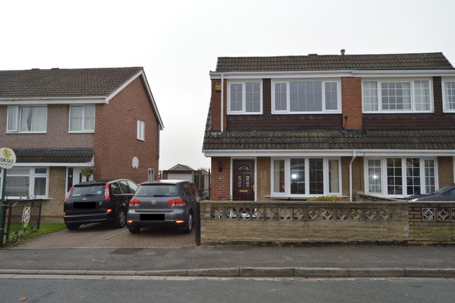 Thumbnail Semi-detached house to rent in Hargreaves Avenue, Stanley, Wakefield