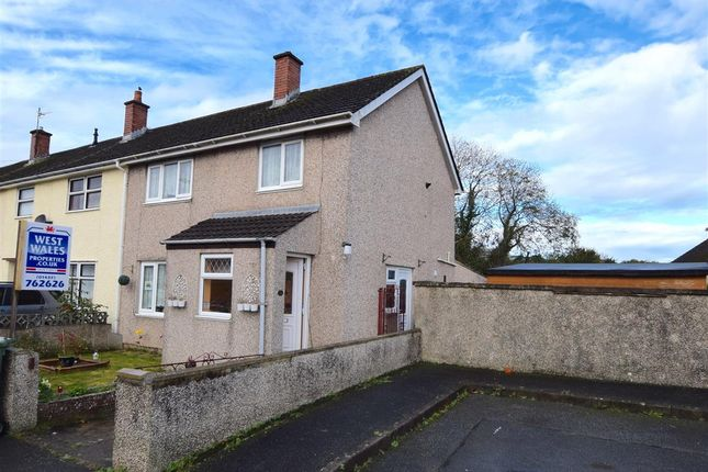 3 bed end terrace house for sale in Glen View, Merlins Bridge, Haverfordwest SA61