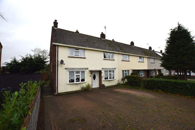 Thumbnail End terrace house for sale in White Horse Avenue, Halstead