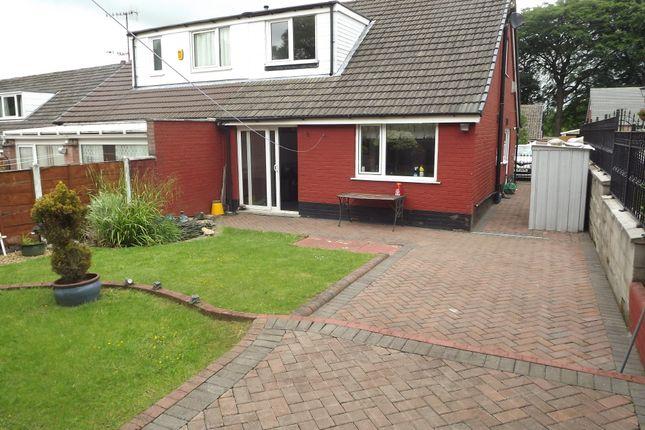 Thumbnail Detached bungalow for sale in Boulsworth Crescent, Nelson, Lancashire