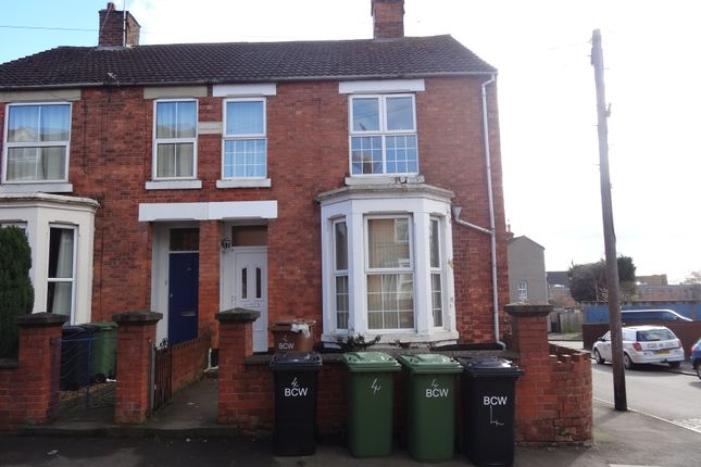 Thumbnail End terrace house for sale in Rock Street, Wellingborough