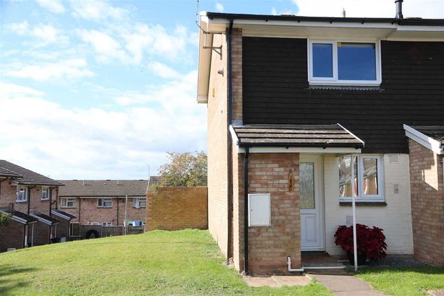 Thumbnail End terrace house for sale in Quarry Close, Ross-On-Wye