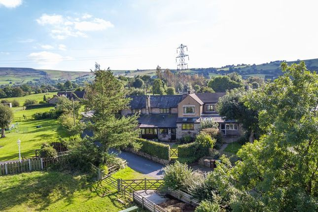 4 bed farmhouse for sale in Woodseats Lane, Charlesworth, Glossop