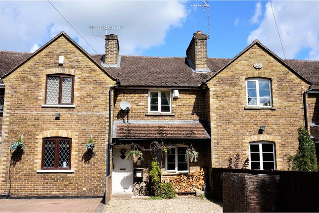 Thumbnail Terraced house for sale in Cove Road, Fleet