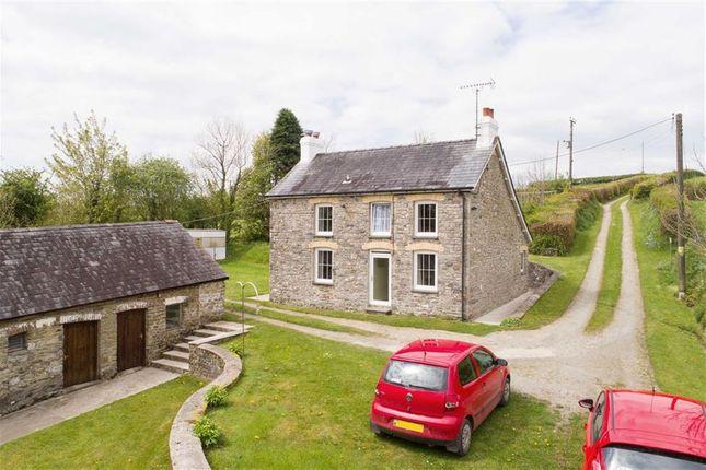 Thumbnail Farm for sale in Cwrtnewydd, Llanybydder