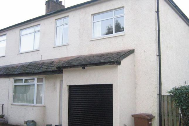 Thumbnail 4 bed semi-detached house to rent in Orchard Grove, Giffnock, Glasgow