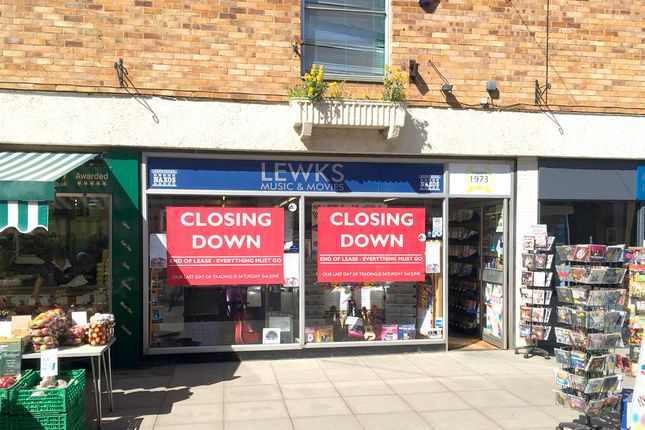 Thumbnail Retail premises to let in Unit 3, Wales Court Shopping Centre, High Street, Downham Market, Norfolk