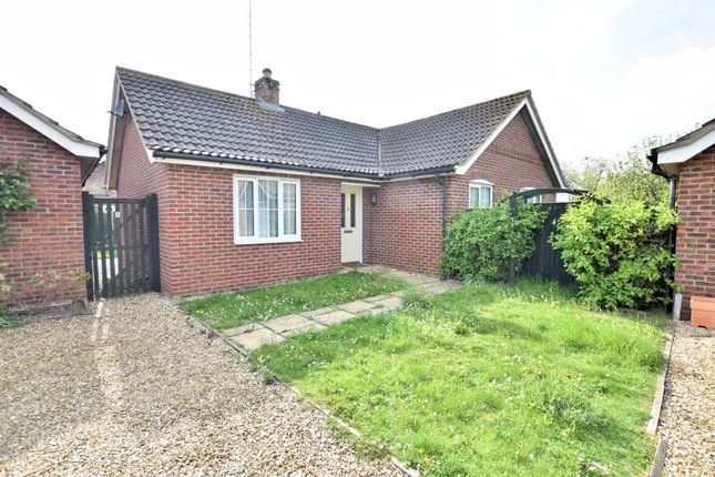 Thumbnail Detached bungalow to rent in St. John Way, Watton, Thetford